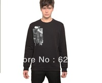 Miss Chen 2013 autumn new product the first men's casual fashion trend of major suit long sleeved sweater