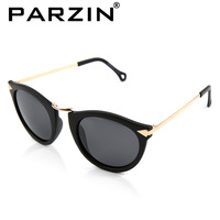 Parzin New 2013 Fashion Sunglasses Lovers UV Polarized Glasses Brand  Desige Sunglasses Black