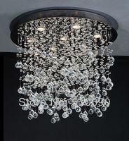 Chandelier Crystal K9 /ITALY/ Cheap /FREE Shipping+ GU10 LED/ LIGHT/ LIGHT FIXTURE/ THICK BASE/ BEDROOM/FOG /MODERN /LIVING ROOM