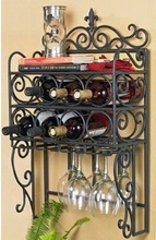 wholesale wine wall shelf