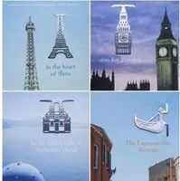 Novelty Mini korea stationery metal eiffel tower bookmark fashion lovely reading helper school product