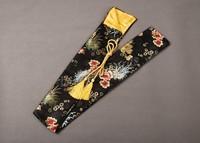 Japanese Samurai Sword Katana Good Quality Nice Soft Sword Bag Black Flower QD11