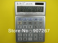 Free Shipping Office Desk 12 Digit Electronic  Gift Calculator. Elegant Looking, Practical and Useful Office Tools. Accept OEM.