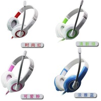 Lp lps-1513 earphones headset ear stereo computer voice earphones headset