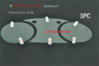 Car kit Anti-Radiation Anti-Scratch Dashboard Protective Film for VW new Magotan CC Passat Tiguan Scirocco