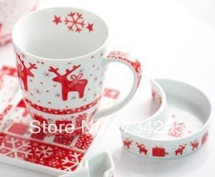 Christmas festival cute coffee mug