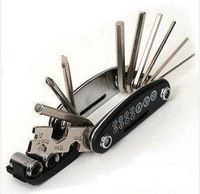 15 IN 1 Multifunction Bike Cycling Maintenance Hexagon Screwdriver Socket Combination Tool