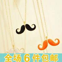 Free Shipping A936 accessories oil multicolour design long necklace female
