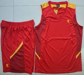 Jet-set man paintless blank basketball clothes basketball jersey 8 449