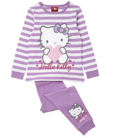Adorable baby pajamas/Long sleeves Hello Kitty baby girl pajamas/Hot sale baby suit