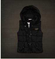 2014  Winter new arrivel women down vest duck down vest brand vest  wholesale good quality free shipping