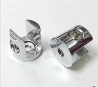 Glass           8 - - 12  fitted shelf clamp shower door hinge