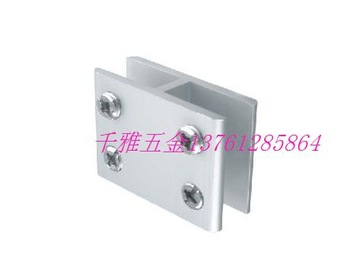 Aluminum alloy  folder 180     partition yards flat    fitted shelf clamp shower door hinge