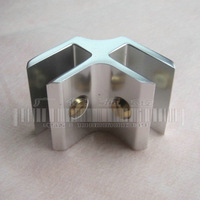 Double aluminum alloy 90    connection pieces board asked    combination of    fitted shelf clamp shower door hinge