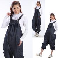 Plus Size L-XXL 2014 New Autumn Summer Gravida Denim Jeans for Pregnant Women Overalls Maternity Bib Pant Casual Suspender Pants
