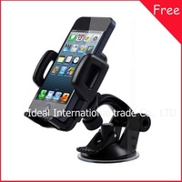 new free shipping universal phone car mount Windshield stand cradle holder case For Lenovo S750 P780 A850 A750 A390 A390t A500