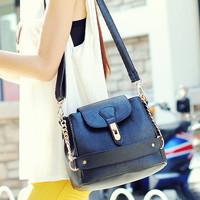2014 fashion fresh 2013 bucket bag all-match chain brand handbags vintage women messenger bag