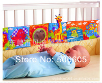 FREE SHIPPING 20pcs/lot Touch lamaze multifunctional fun bed around multi-colored baby cloth books baby toy