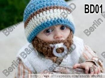 Baby Beard Hat Knitting Pattern : CHILD BEARDED BEANIE CROCHET PATTERN Crochet Patterns Only