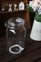 Incafe sealed cans jam sealed cans glass jar classic canister zakka