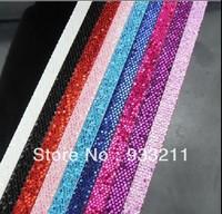 50 Stripes 1 meter length /8mm wide Sequin Belt DIY accessory