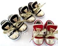 Spring shoes Children's shoes children's shoes girls gold velvet leopard head athletic shoes boys shoes tide shoes baby shoes