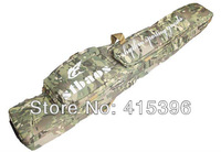 Tactical carrying bag 1.2m LONG rifle gun slip double hunting BAG (CP/Multicam) - Free Shipping