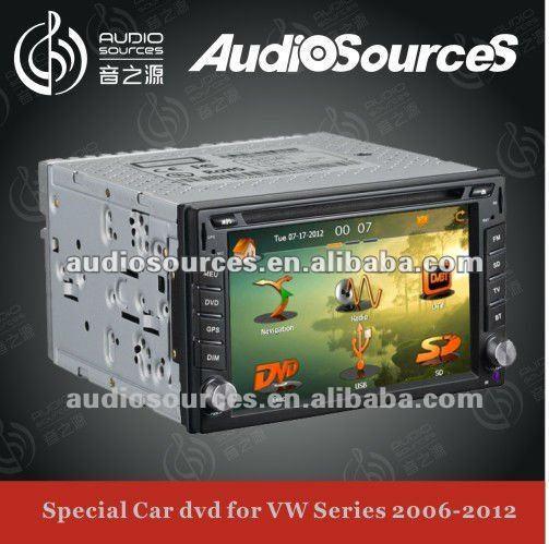 6.2 universal 2 din auto car radio gps navigation system with3G/DVBT/TMC/Iphone/Ipod/RDS(China (Mainland))
