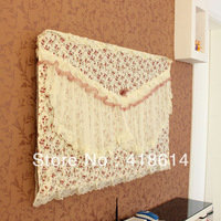lcd fabric lace tv hanging dust cover 37 42 47 55