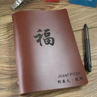 Commercial handmade vintage cowhide laptop a5 binder notebook diary tsmip
