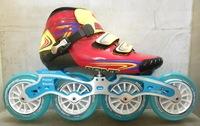 Free Shipping Australia vaypor professional all atta carbon speed skating shoes crystal bined 88a wheel