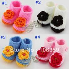 wholesale crocheted baby booties