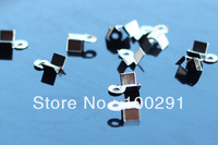 leather cord clamping piece silver color 2000pcs/lot  jewelry findings