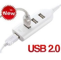 HOT Mini USB HUB High Speed 4-Port USB 2.0 Convenient suitable for PC Laptop Notebook Computer 1 piece free shipping