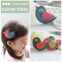10pcs/lot bird hair clipsChildren head dress hair band accessories/hairclips/headwears