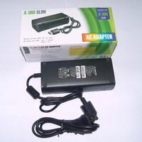 Free Shipping AC Power Adapter for Xbox 360 Slim (US Plug / AC 100~240V)