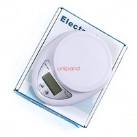 5kg Max/1g Resolution,Digital LCD Electronic Kitchen Postal Scales