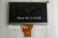 Free shipping 6.5 inch LCD screen AT065TN14 for Car DVD ,GPS Navigation