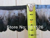 2Yard/Lot Green Lady Amherst Pheasant Feather Trim Fringe FREE SHIPPING
