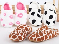 Drop Shipping New Avvrial Many Fashion Winter Indoor womens and Mens Floor Slippers