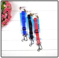 Wholesale Car Vehicle Pet Seat Safety Belt Dog Seatbelt Car Pet Fixed Belts Free Shipping 2.0cm 50Pcs/Lot
