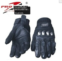 leather motorcycle motorbike bike racing sports glovesmotorcycle Gloves leather moto gloves racing gloves full black
