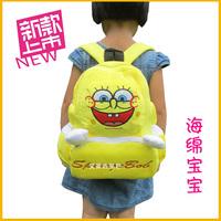 Child bags kindergarten school bag cartoon backpack plush backpack bag baby school bag sponge