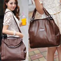 2013 new leather big bag / Shoulder Messenger Bag / free Shipping
