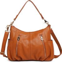 2013 autumn new simple leather handbag / fashion handbags shoulder messenger / Free Shipping