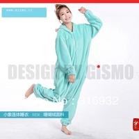 K2 Gismo SENTIMENTAL CIRCUS mint elephant mouton home coral fleece sleepwear lounge