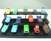 Free shipping 14piece PVC Toy Cars  model toys  6*3cm-Movie Car 2 mixed cars