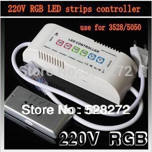 Светодиодная лента SANZUO RGB 5050 SMD 110v/240v , RF SZ-4 светодиодная лампа sanzuo 5 1 6 x b22 220v240v 3w5w7w9w15w smd2835