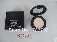 Free Shipping New Studio finish concealer cache-cernes spf 35 fps 7g in box 1pcs/lot NC20