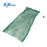Free Shipping 60cm none knot  net fish care fishing net bag flat double layer net